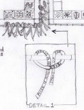 Sketch for Mills Lawn Artist in Residency 2013